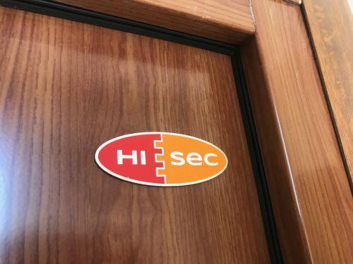 Kínai HiSec ajtó biztonságosabbá tétele