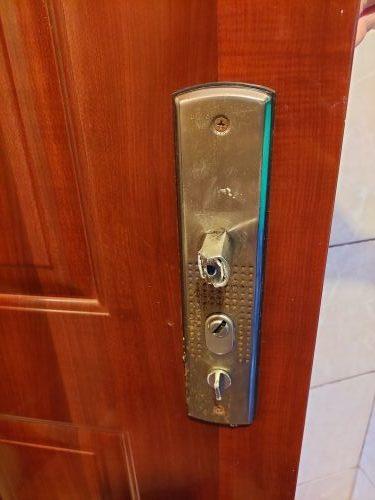 HiSec ajtón kilincs-csere, zárcsere